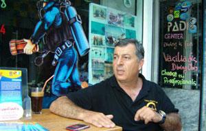 Ratacita prin lume – Scuba diving in Thassos cu Vasiliadis